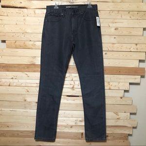 NWT Old Navy Gray Slim Mens Denim Jeans size 30